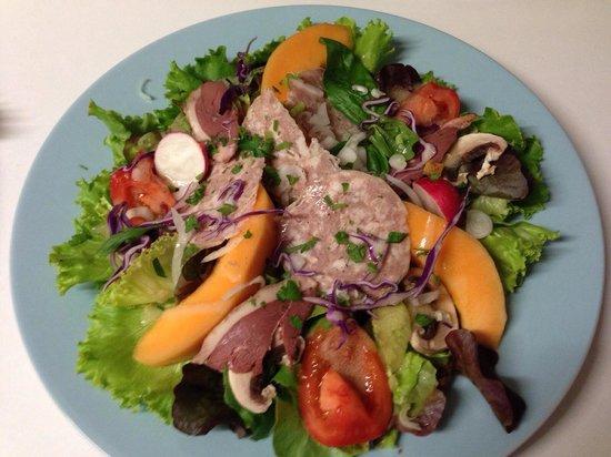 Banana's Kafe: Salade du jour !!
