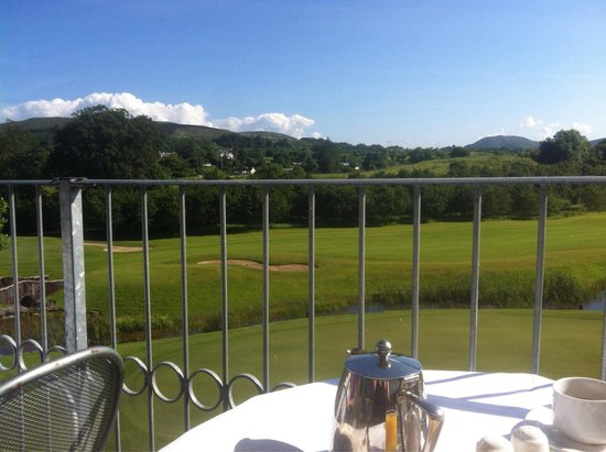 Castle Dargan: View from our breakfast table