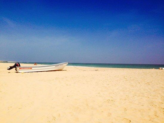 Hotel Riu Touareg : Beach