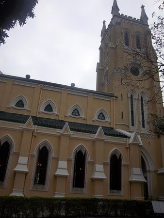 St. John's Cathedral Hongkong