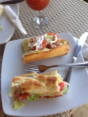 The Waterfront : Tuna baguette YUM