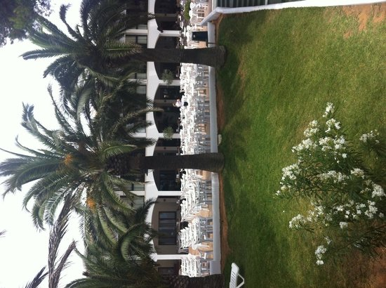 Inturotel Esmeralda Park: view our room room 106 block M