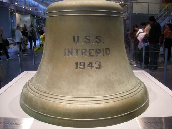 Intrepid Sea, Air & Space Museum: USS Intrepid Bell