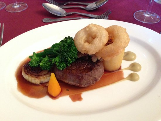 Cragwood Country House Hotel: Fabulous Lakeland Beef Fillet dinner