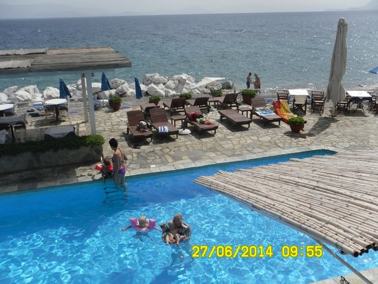Lido Hotel : View from parents room