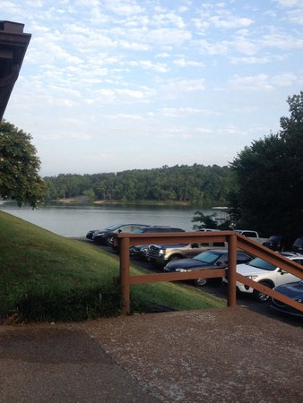 Moors Resort & Marina on Kentucky Lake: Morning view