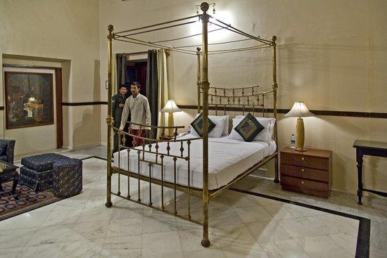 The Laxmi Niwas Palace: Bedroom