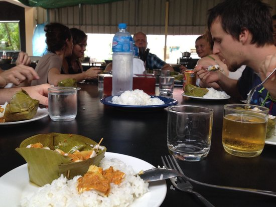 Cambodia Cooking Class: The fish amok I cooked