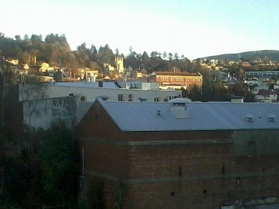 Scenic Hotel Dunedin City: Beautiful Morning View