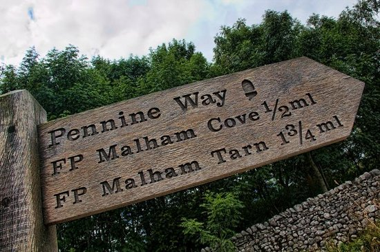 Malham Cove: Only 1/2 a mile to go!