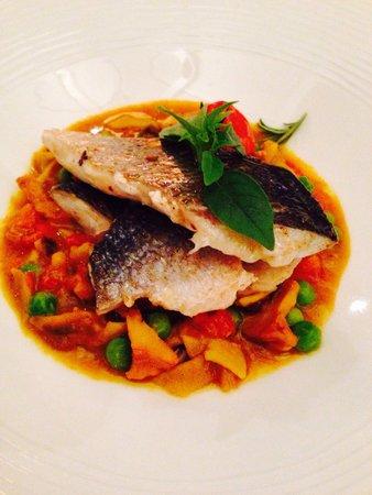 Restaurant David : Fillet of sea bream