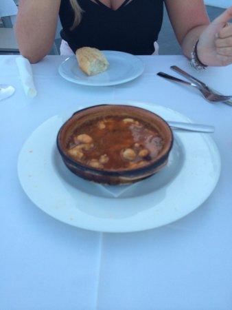 Restaurante Gavia: Prawns