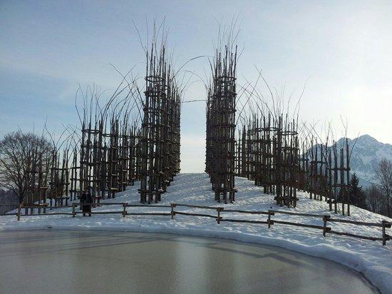 Oltre il Colle, Italia: Inverno con la neve