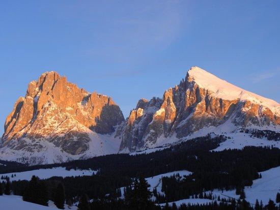 Hotel Saltria - true alpine living: Panorama Sasso Lungo e Sasso Piatto