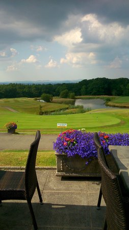 Woodbury Park Hotel & Golf Club: View from Terrace