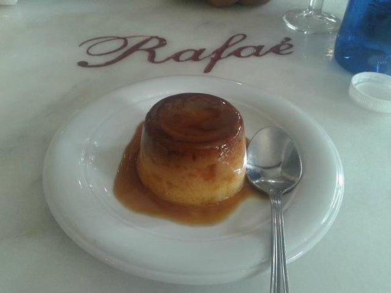 Bodega Taberna Rafae : Menú del día - Flan de huevo