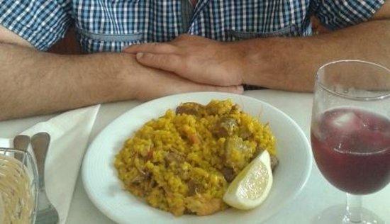 Bodega Taberna Rafae : Menú del día - Paella