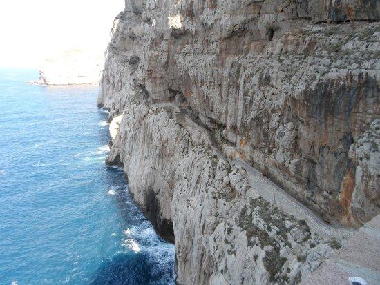 Frecce delle Grotte di Antonio Piccinnu: Escala del Cabirol
