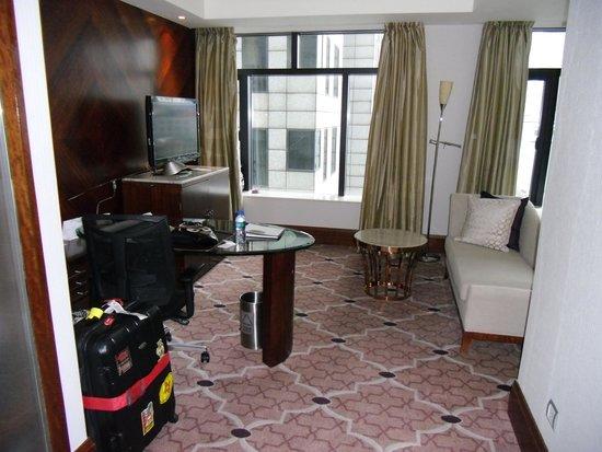 The Westin Bund Center Shanghai: living/working area