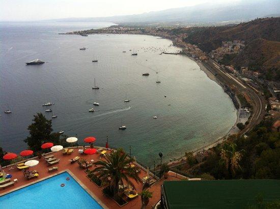 Hotel Villa Diodoro: Vista straordinaria dalla camera