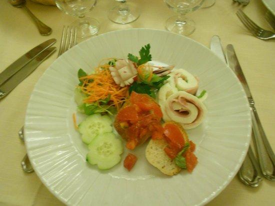 Michelangelo Hotel: particolare di cena