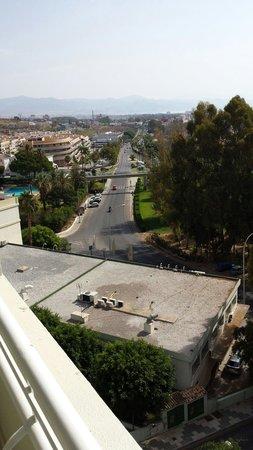 Hotel Roc Costa Park : Trafico y mas trafico