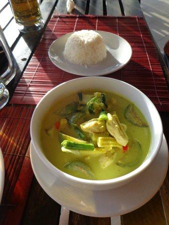 Baan Manali Resort : Repas