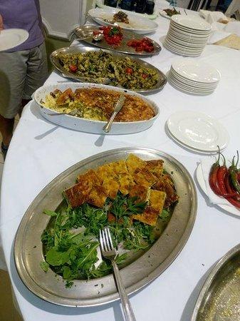 Hotel Cirillo: buffet di verdure