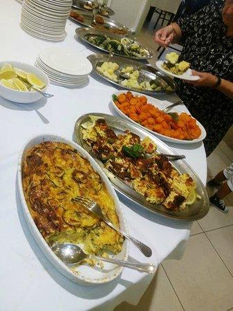 Hotel Cirillo: verdure buffet