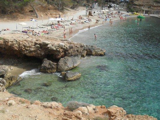 Playa Cala Salada: giochi di luce...