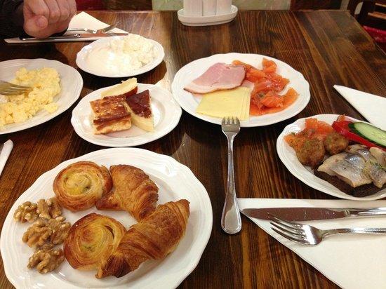Hotel Bern : завтрак breakfast