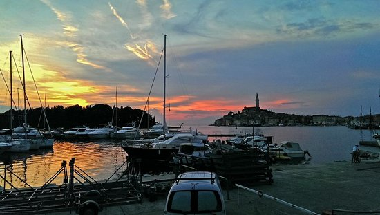 Hotel Eden: View of the Old Town of Rovinj