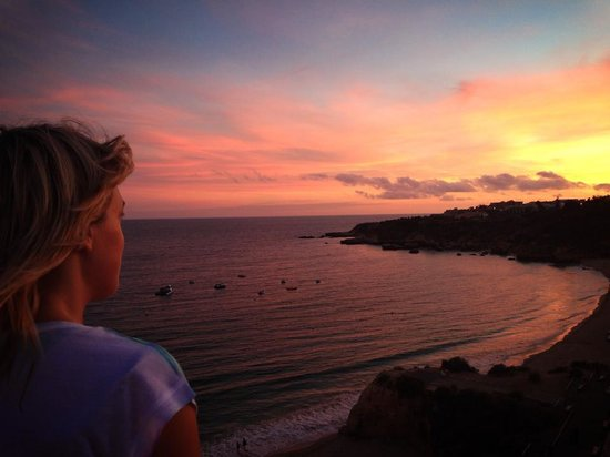 Muthu Clube Praia da Oura : The view from hotel