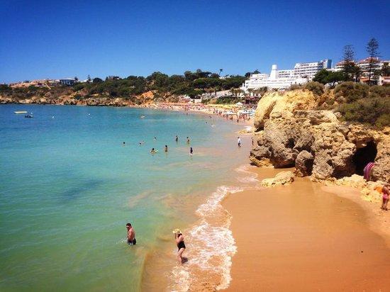 Muthu Clube Praia da Oura : The beach 1 min from room