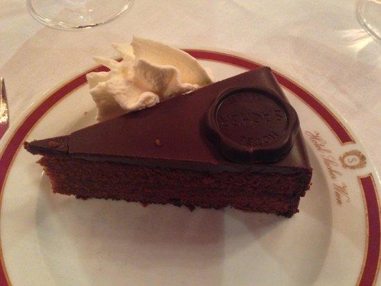 "Restaurant Rote Bar: ""Sacher-Torte"""