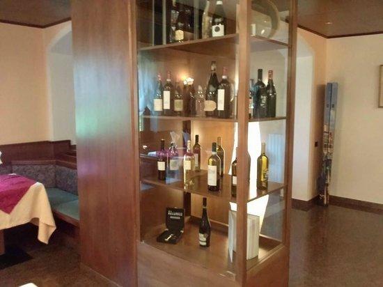 Hotel Marianna: Bacheca vini