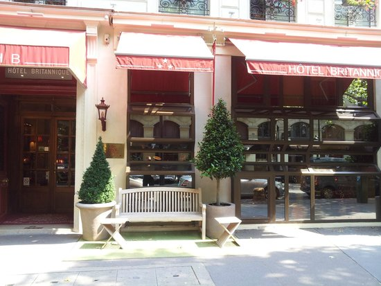 Hotel Britannique : Vacker entre'
