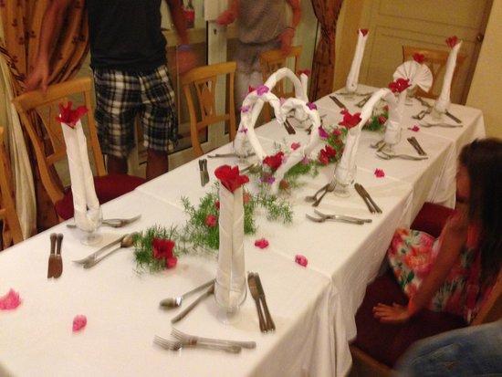 IBEROSTAR Averroes: Mesa de Jantar