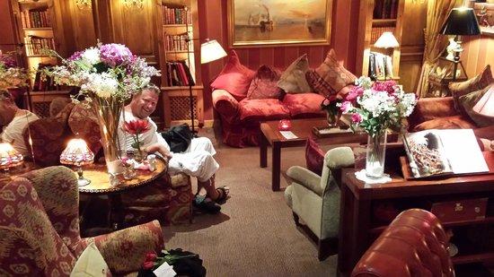 Hotel Britannique: Supermysig lounge