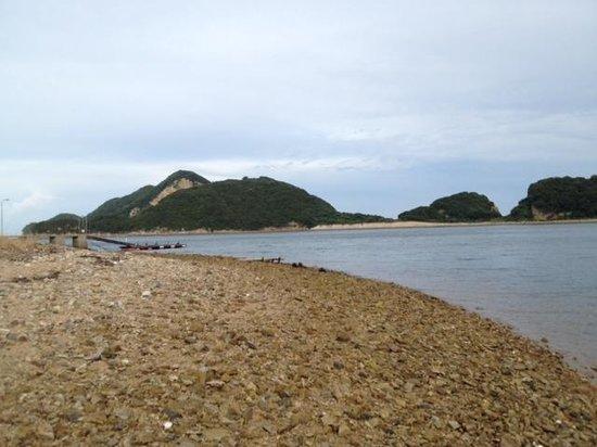 Aqua: 目の前のビーチ