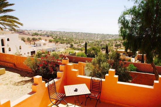 Ride Morocco : Dachterrasse
