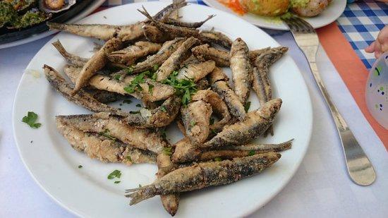 Cofradia de Pescadores de Puerto de las Nieves: Pescaditos fritos