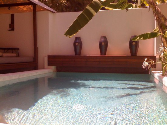 SALA Samui Choengmon Beach Resort : Our private pool
