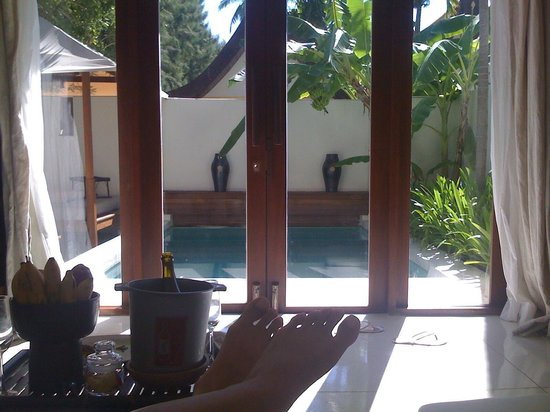 SALA Samui Choengmon Beach Resort : View from the bed