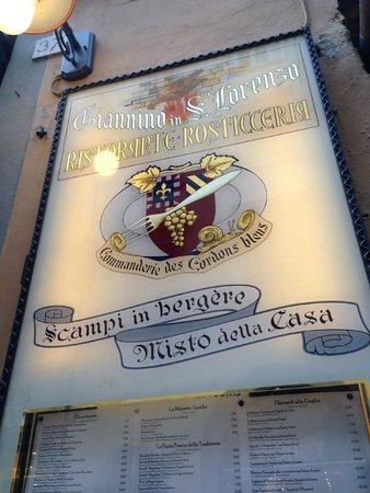 Giannino in San Lorenzo: Ristorante Giannino