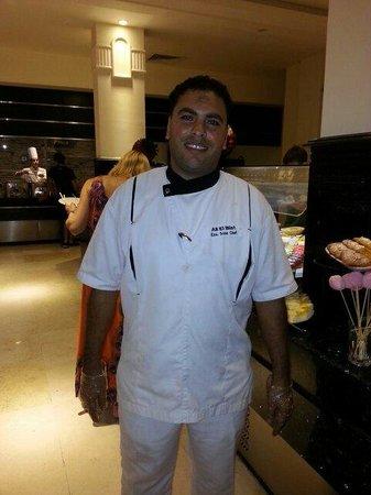 Sea Club Aqua Park : Head Chef extremely helpful & conscientious.