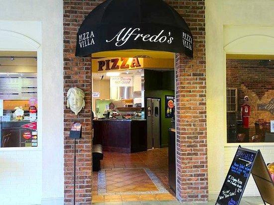 Alfredo S Pizza Villa Mall Entrance
