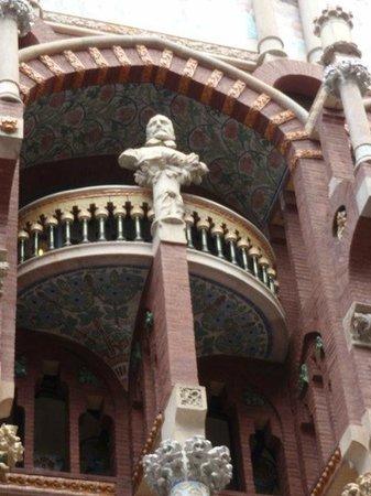 Palau de la Musica Orfeo Catala: facciata