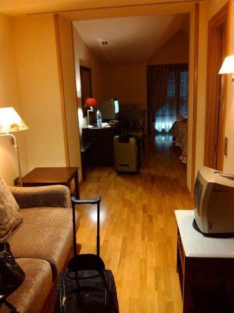 Hotel Villa Virginia: Amplia habitación con dos camas. Hab. 110