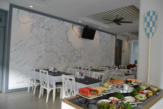Sugar Marina Resort - Nautical - Kata Beach : Restaurante e local do café da manhã